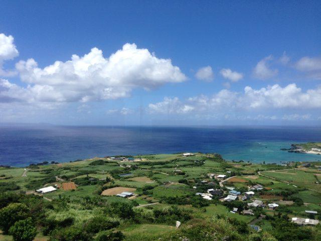 周囲10キロの小さな島の頂上
