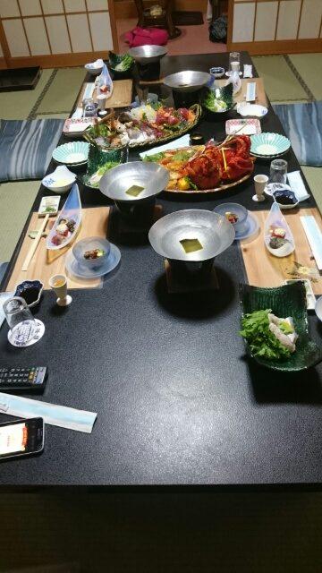 白浜館・夕食