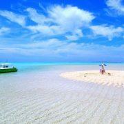 与論島・百合が浜