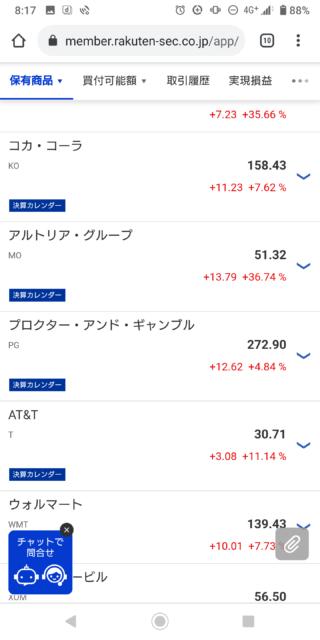 アメリカ株2